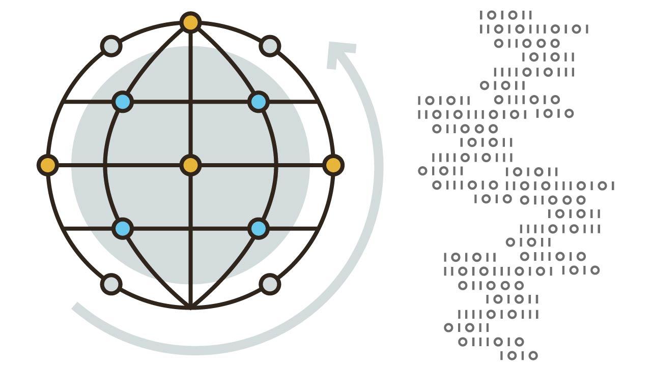 Global Linux bi-directional file replication